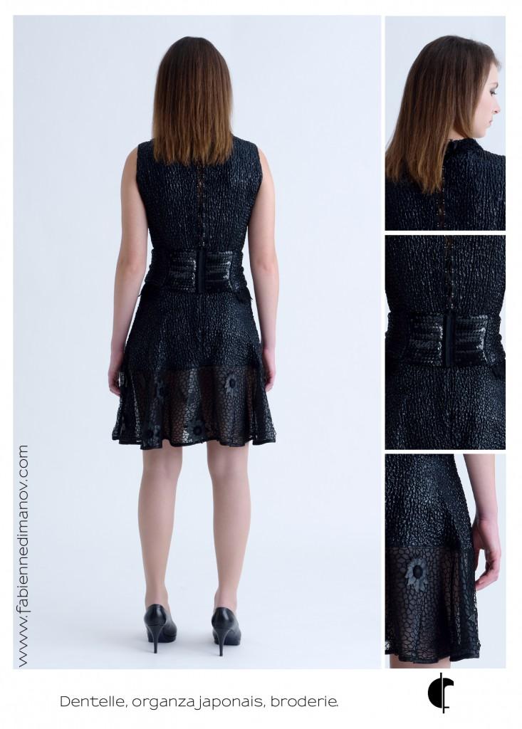 & Black (dos) - Fabienne Dimanov Paris