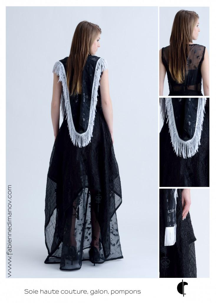 Black (dos) - Fabienne Dimanov Paris