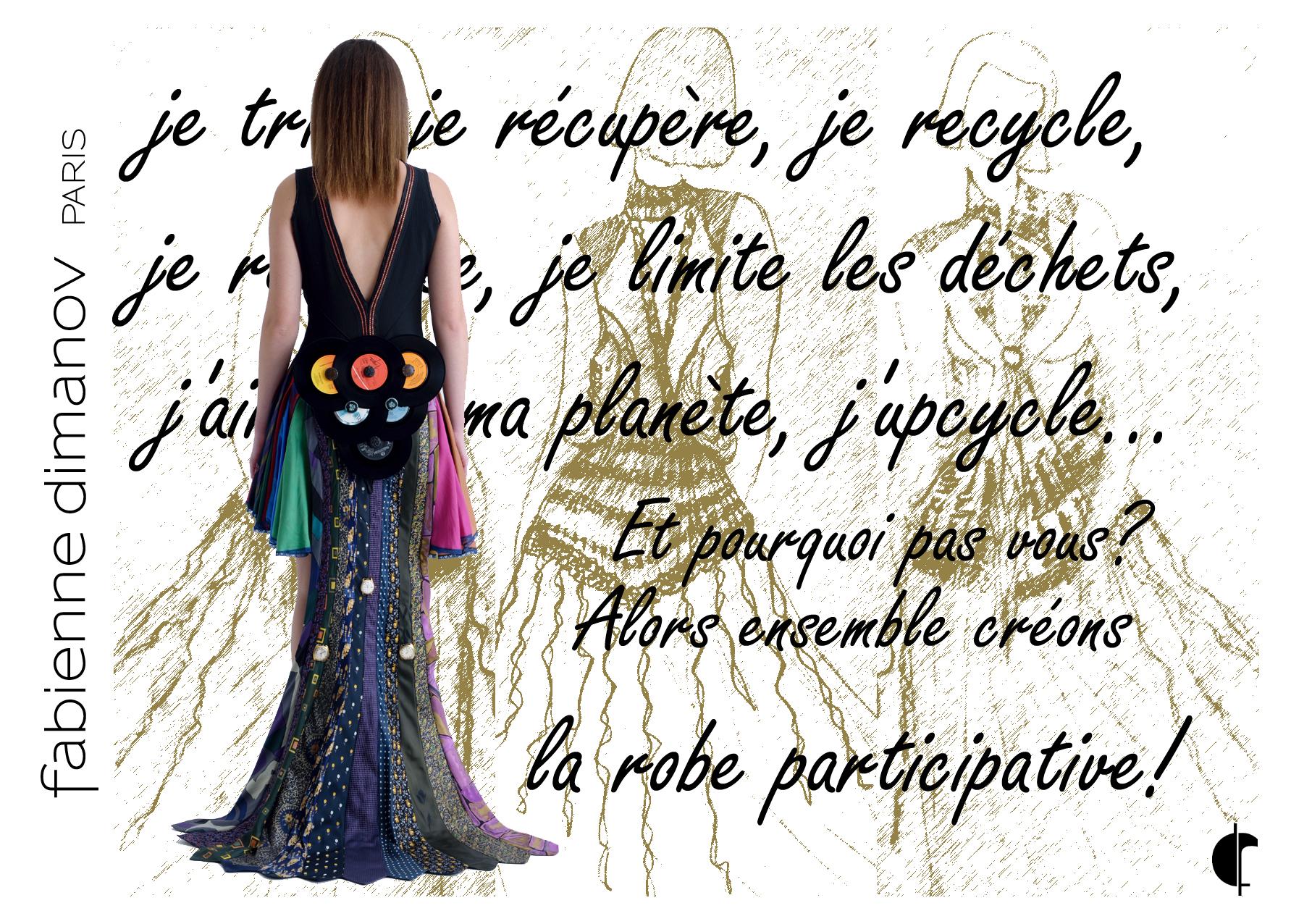 Robe participative - Fabienne Dimanov Paris