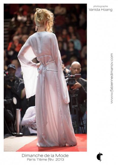 Argent (dos) au Dimanche de la Mode - Fabienne Dimanov Paris