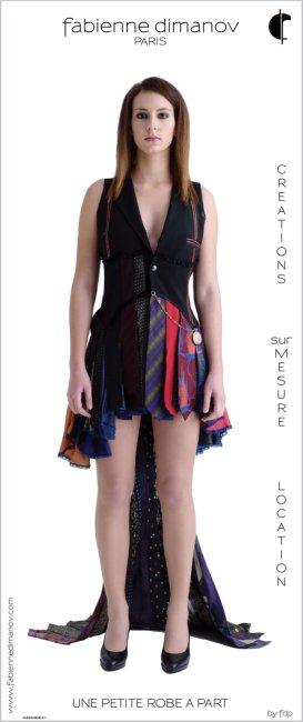 Une petite robe à part by fdp - Fabienne Dimanov Paris