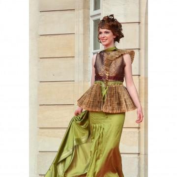 Gaia - la robe participative - Fabienne Dimanov Paris