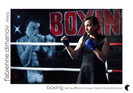 Shooting Sarah Ourahmoune – échauffement