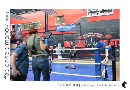 Shooting Sarah Ourahmoune