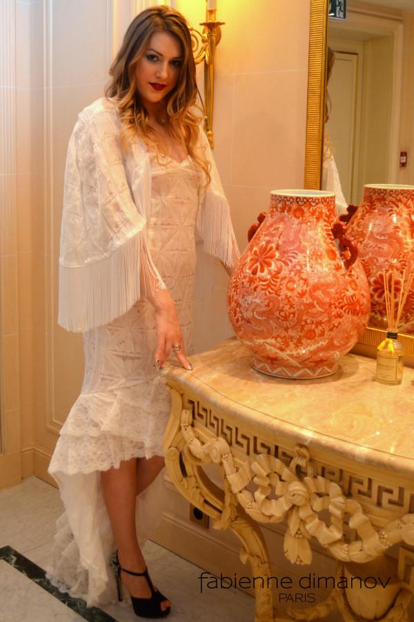 Cristal - robe de mariée - Fabienne Dimanov Paris