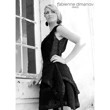 Terre Noire - la petite robe noire - Fabienne Dimanov Paris