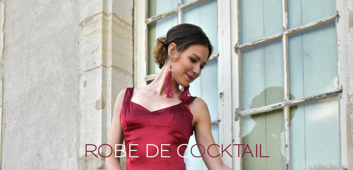 ROBE COCKTAIL - Fabienne Dimanov Paris