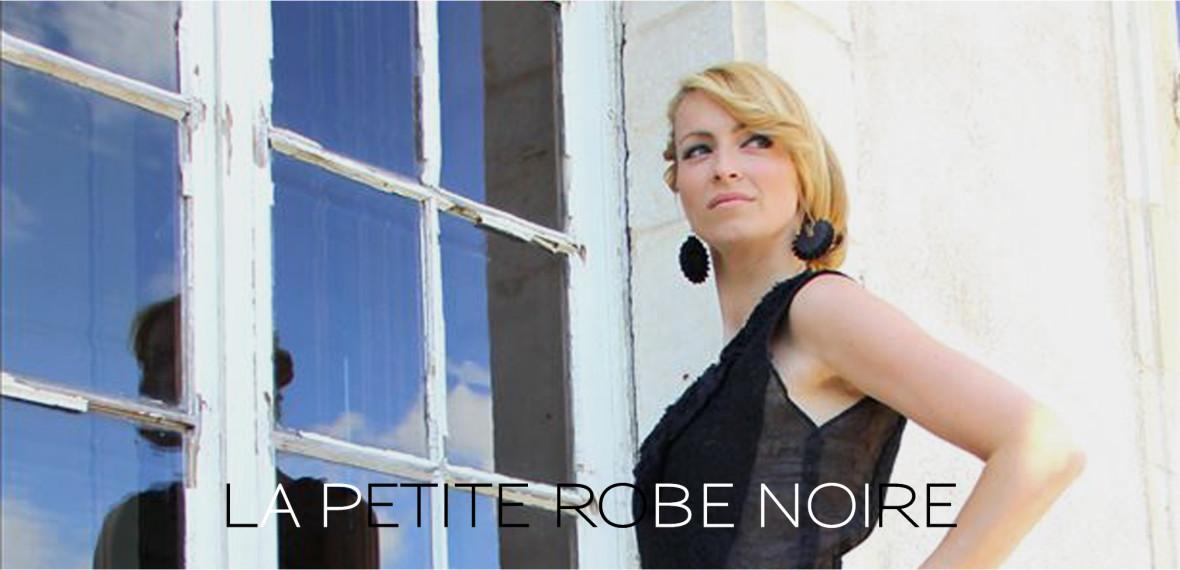PETITE ROBE NOIRE - Fabienne Dimanov Paris