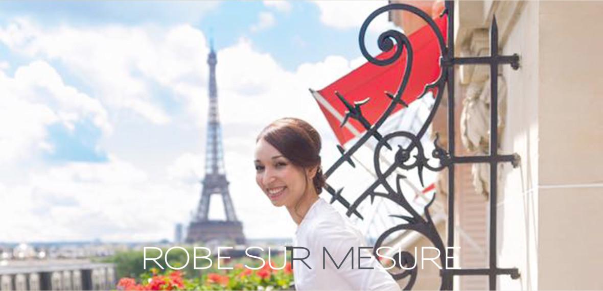 ROBE SUR MESURE - Fabienne Dimanov Paris