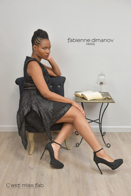 Terre Noire - Miss fab - Shooting Bee Paris - Fabienne Dimanov Paris