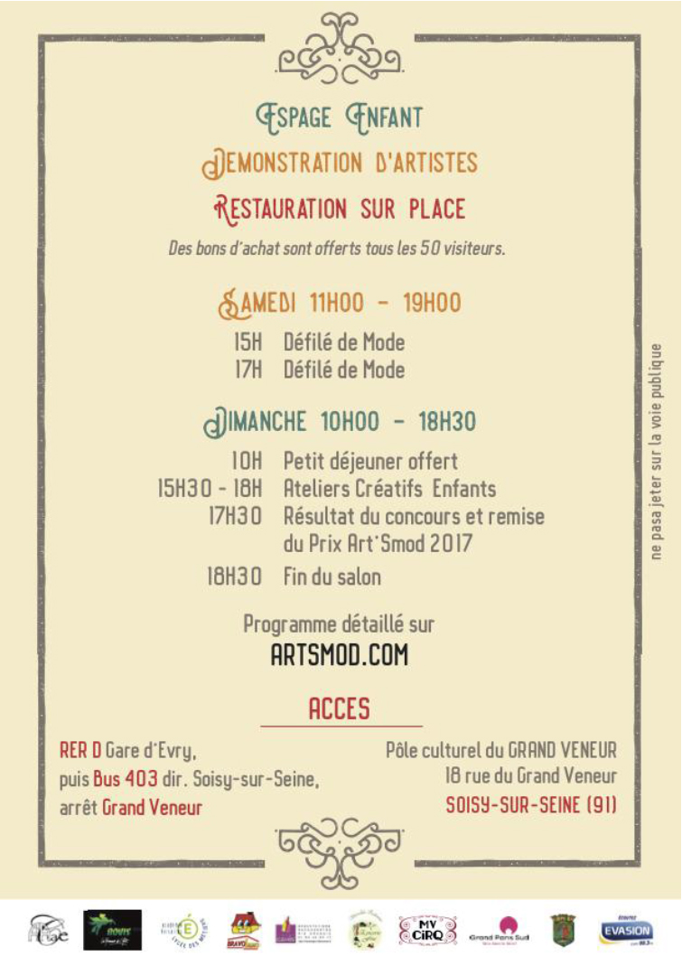 Artsmod 2017 - Fabienne Dimanov Paris