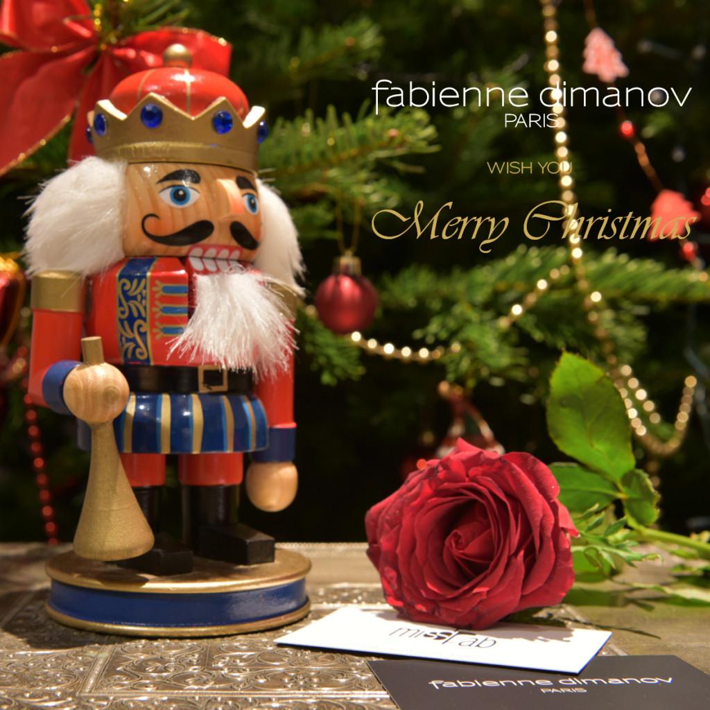 Merry Christmas - Fabienne Dimanov Paris