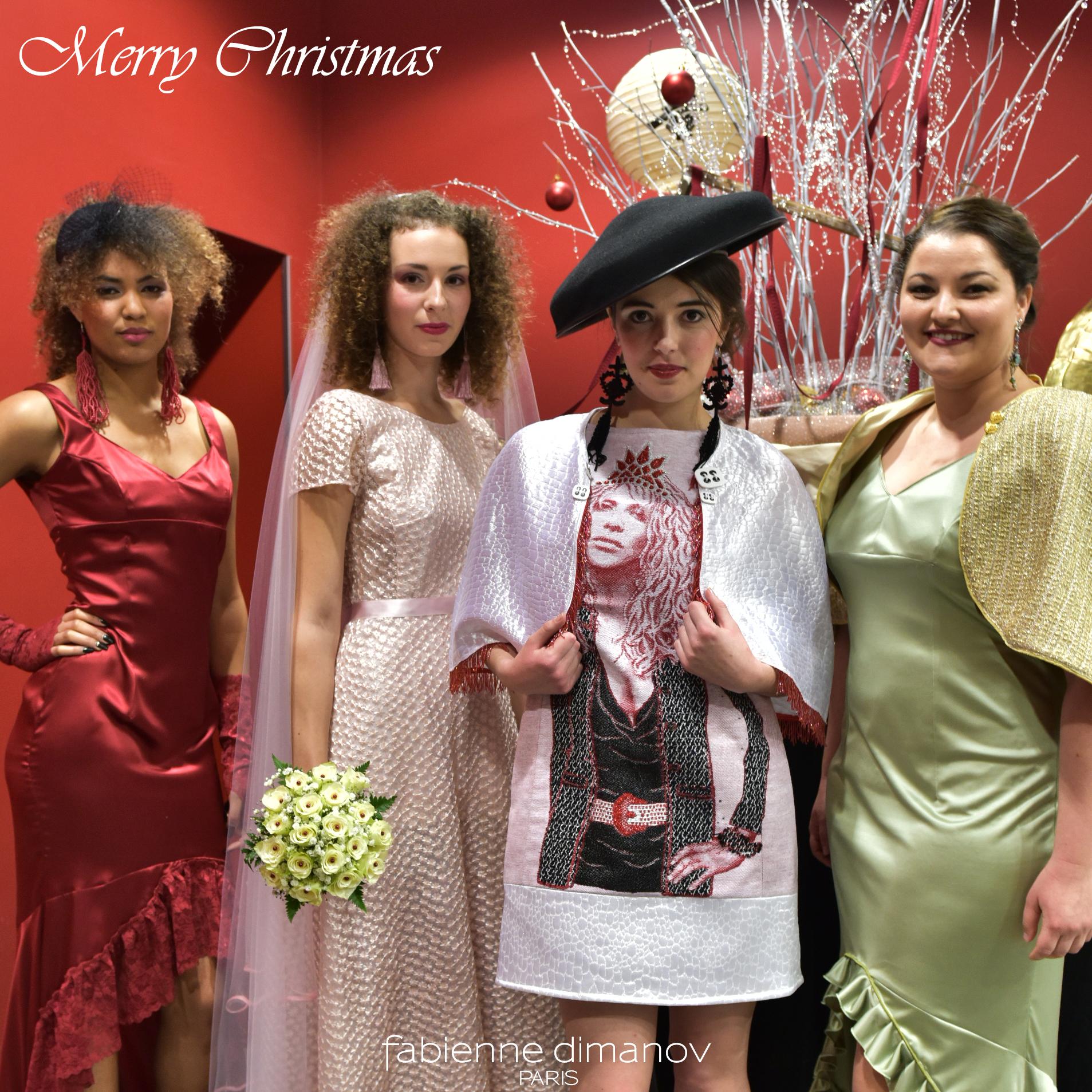 Marché de Noël - Merry Christmas - Fabienne Dimanov Paris