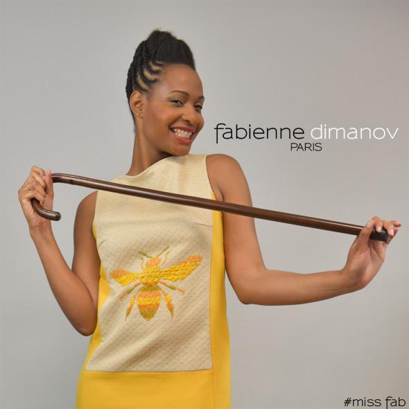 Robe perso #missfab - robe chasuble - Fabienne Dimanov Paris
