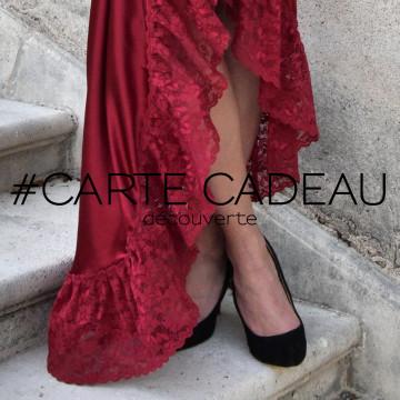 Carte cadeau - découverte - Fabienne Dimanov Paris