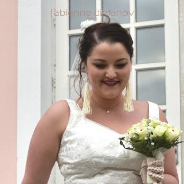 Mariée rétro - mariage - Fabienne Dimanov Paris