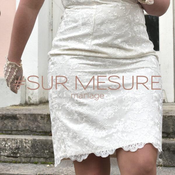 Robe de mariée sur-mesure - mariage - Fabienne Dimanov Paris