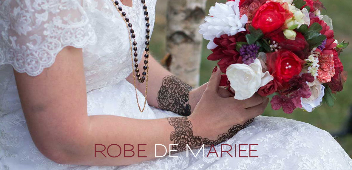 ROBE DE MARIEE - Fabienne Dimanov Paris