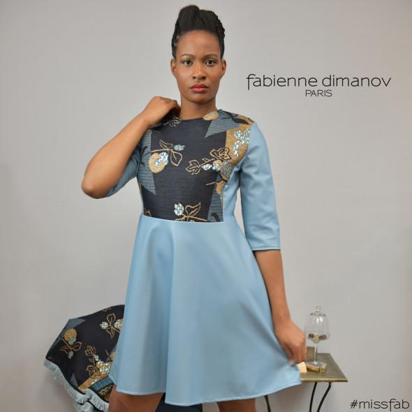 Terre et ciel - Miss Fab 6 Fabienne Dimanov Paris