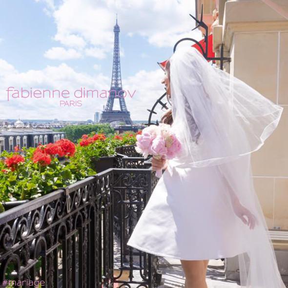 Robe de mariée - Fabienne Dimanov Paris