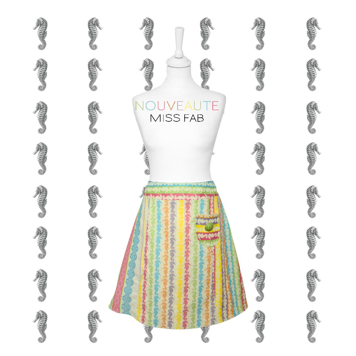 Nouveau - la jupe personnalisable - Miss Fab - Fabienne Dimanov Paris