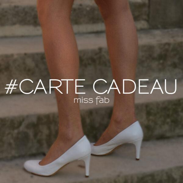 Carte cadeau - Miss Fab - Fabienne Dimanov Paris