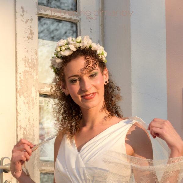 Vestale robe de mariée antique - Fabienne Dimanov Mariage