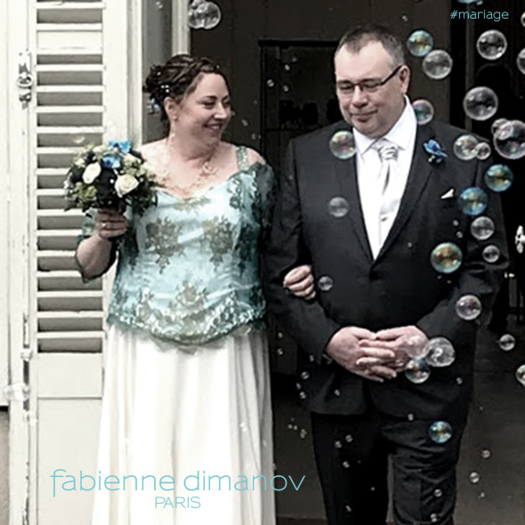 Mariée sur mesure - Fabienne Dimanov Mariage