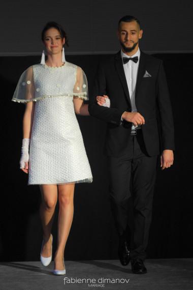 DAISY - L'AMOUR EST ÉTERNEL - artsmod 2018 - Fabienne Dimanov Mariage