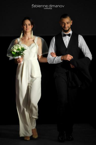 COMBI - L'AMOUR EST ÉTERNEL - artsmod 2018 - Fabienne Dimanov Mariage