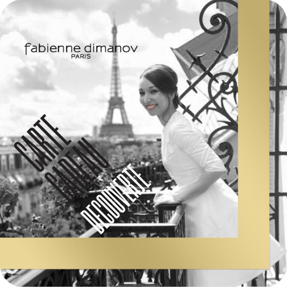 carte cadeau découverte - robe de cocktail courte - sur mesure - Fabienne Dimanov Paris