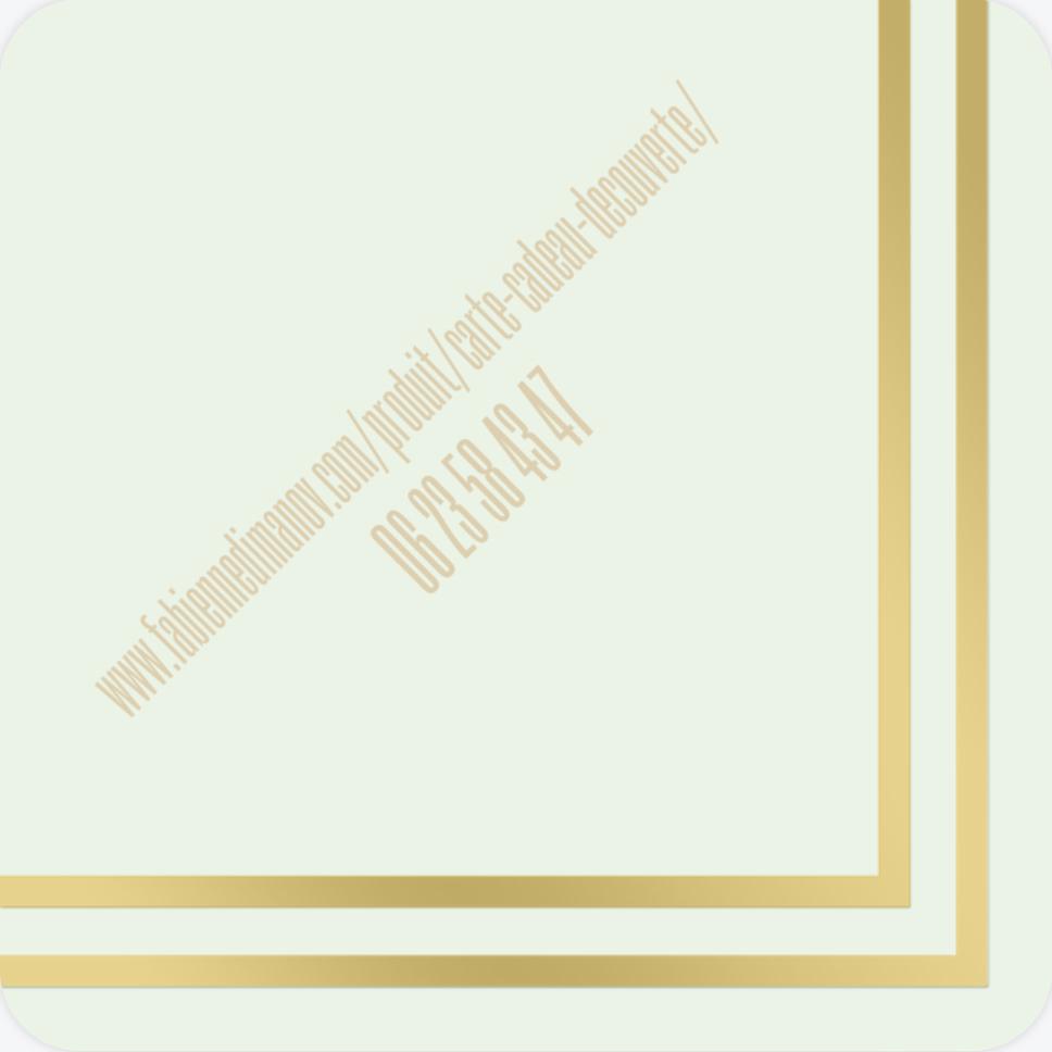 carte cadeau découverte- verso - Fabienne Dimanov Paris