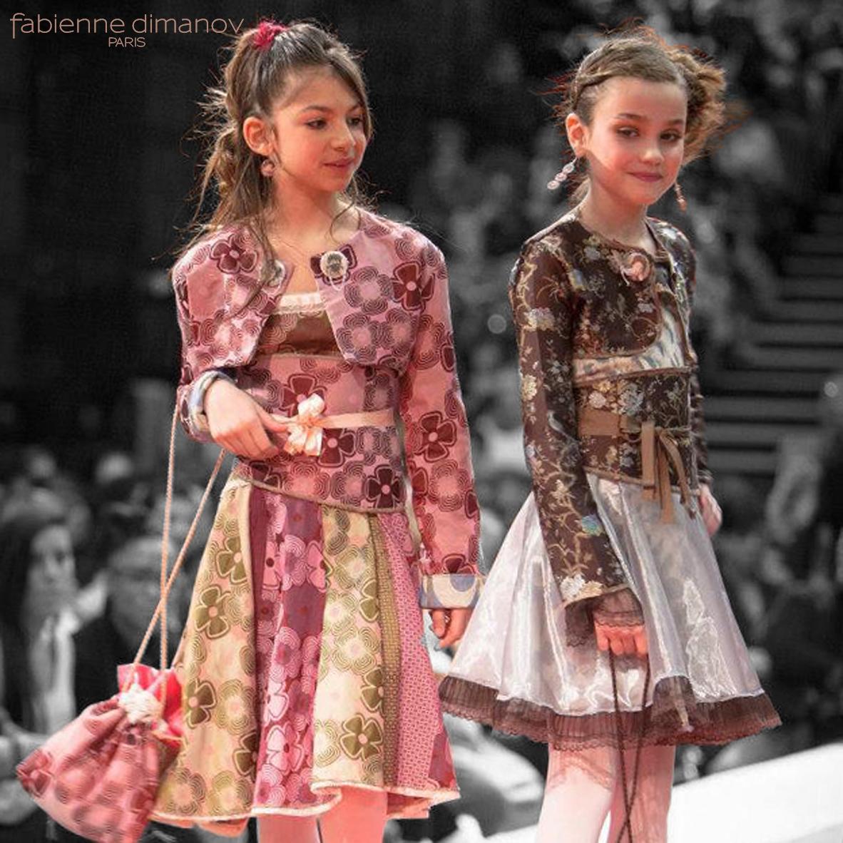 Venise & Tokyo - cortège fillette - Fabienne Dimanov Paris
