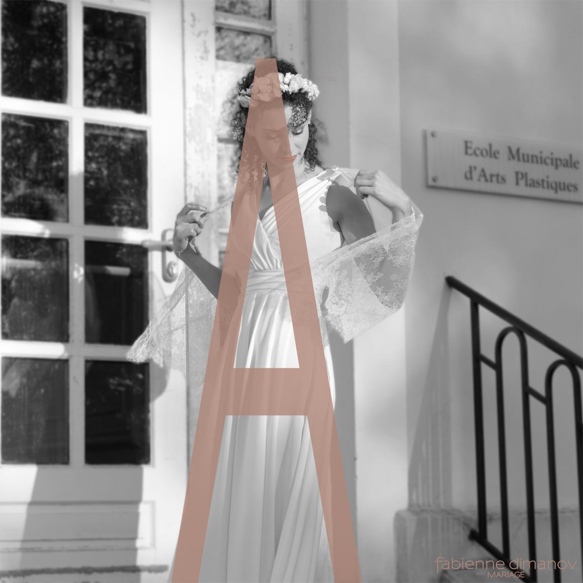 MARIÉE MORPHOLOGIE EN A - Fabienne Dimanov Mariage