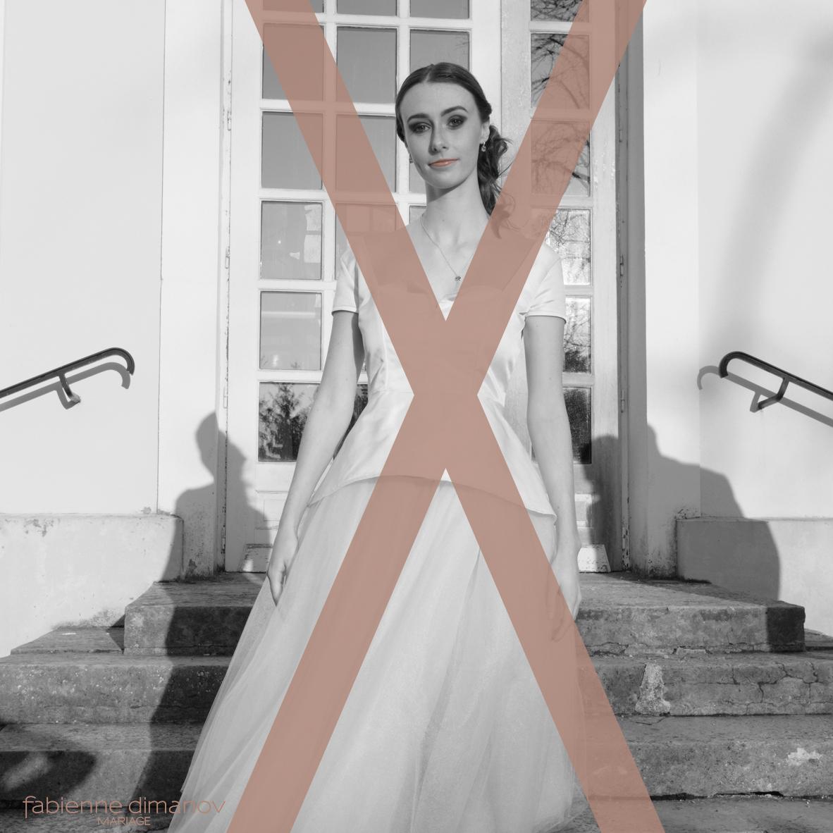 MARIÉE MORPHOLOGIE EN X - Fabienne Dimanov Mariage