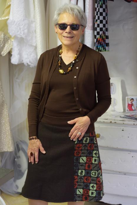 JUPE PERSONNALISABLE MISS FAB - Fabienne Dimanov Paris