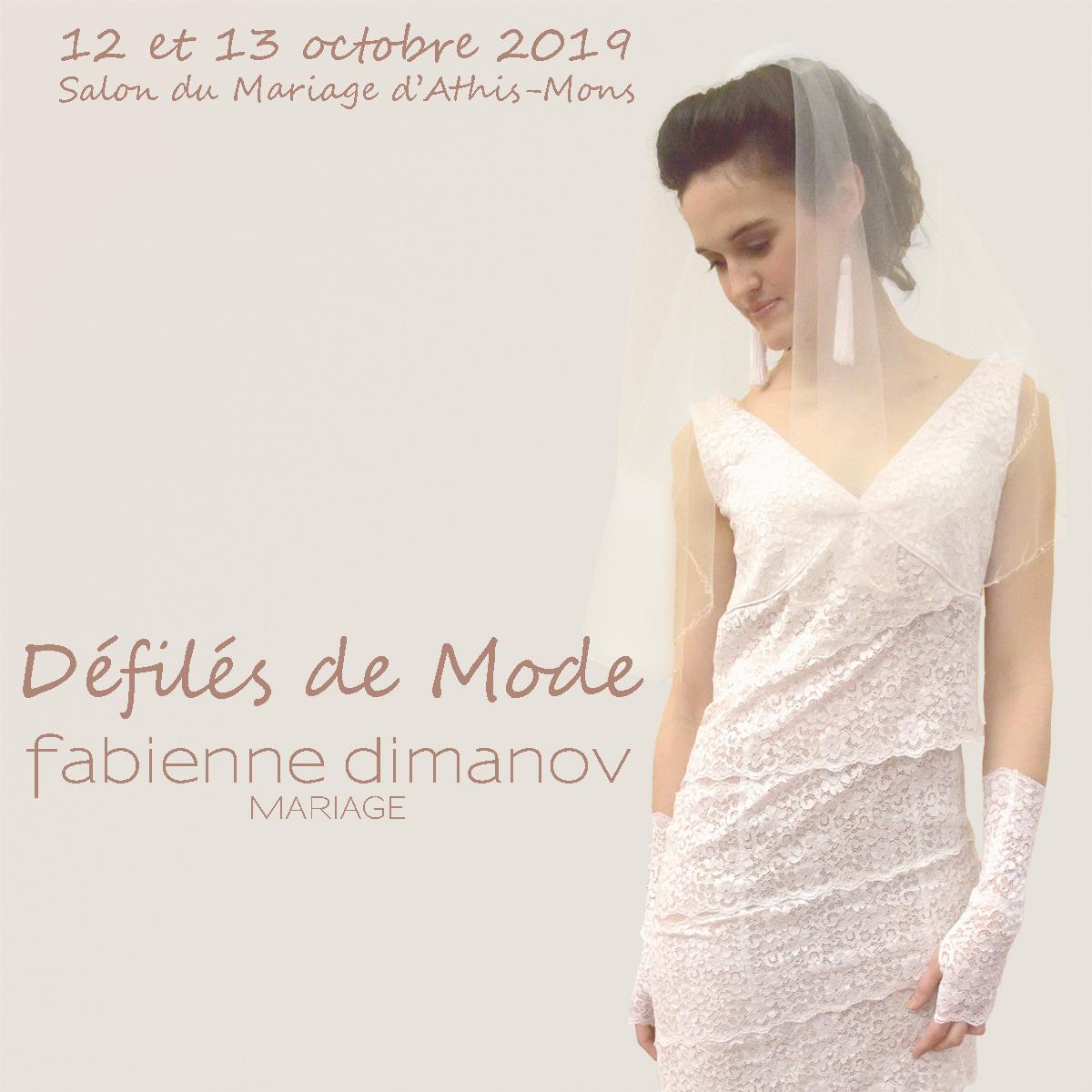 Salon du mariage et de la réception - Défilés - Athis Mons - Fabienne Dimanov mariage