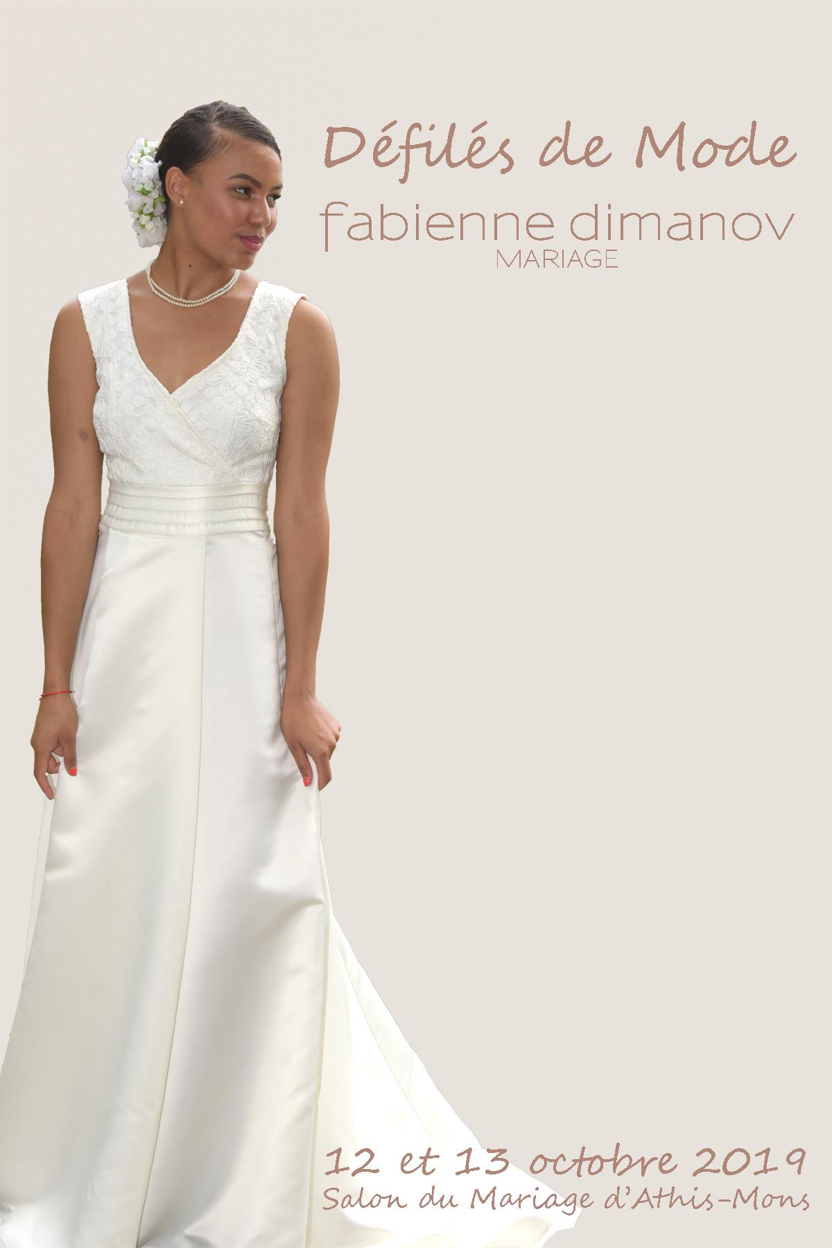 Salon du mariage - Défilé collection Mariées 2020 - D'ART & D'AMOUR - Fabienne Dimanov Mariage