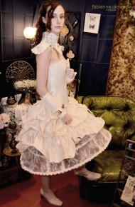 Psyché - Robe victorienne et gothique - Fabienne Dimanov mariage