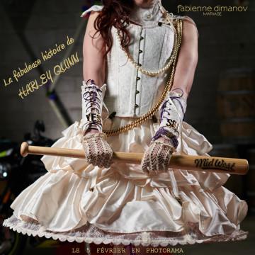 Harley Quinn & Joker Wedding - Fabienne Dimanov Mariage photo @larrypictureart