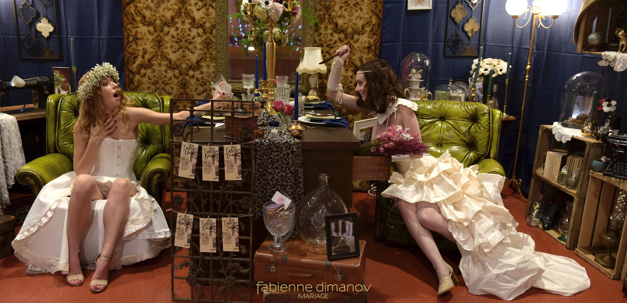 Cabinet des curiosités - Fabienne Dimanov Mariage