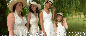 D'ART & D'AMOUR - Mariées 2020 - Fabienne Dimanov Mariage