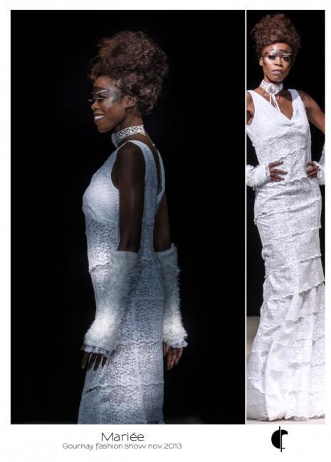 Mariée au Gournay Fashion Show - Fabienne Dimanov Paris