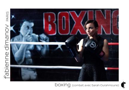 Shooting Sarah Ourahmoune – combat