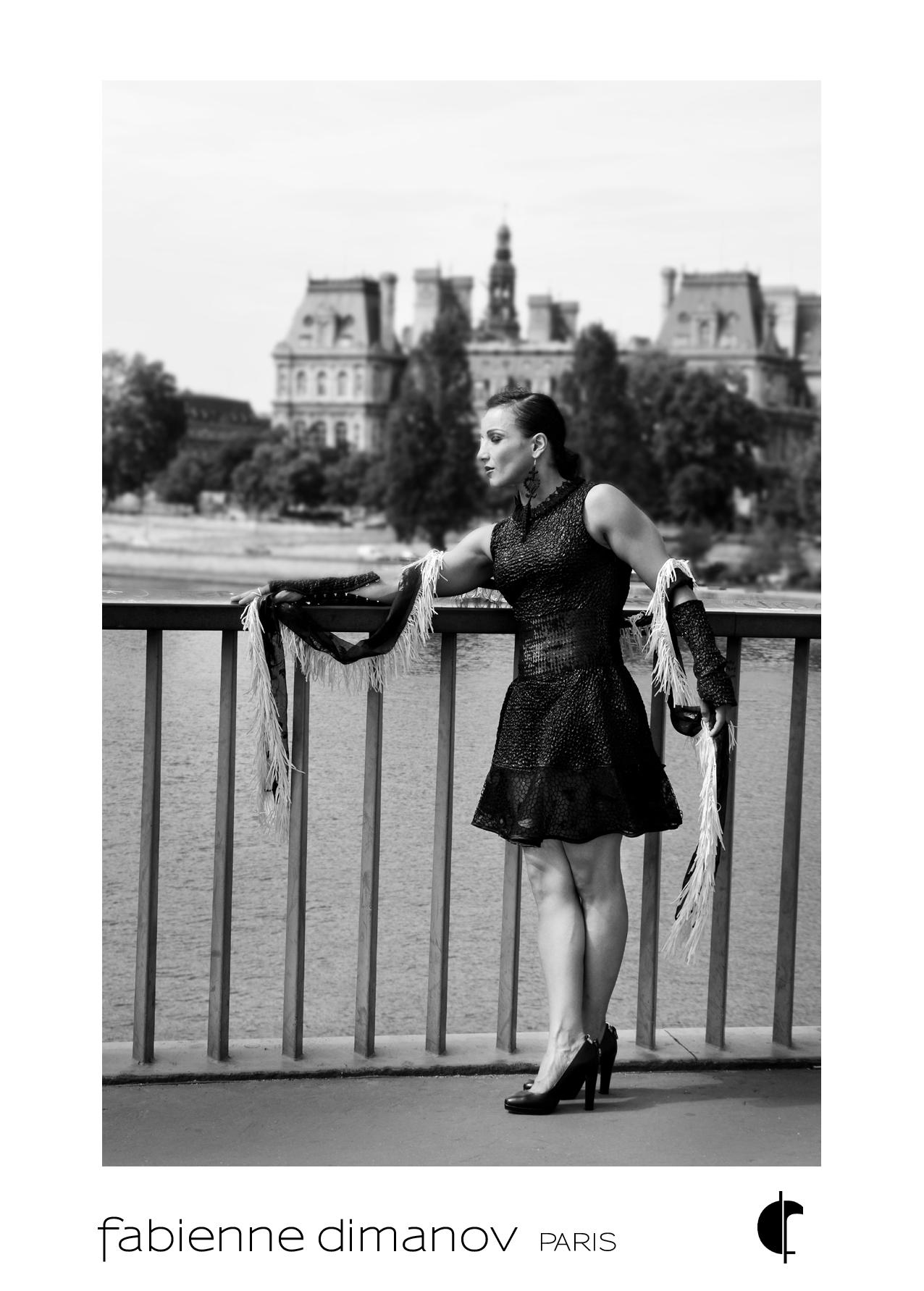 Shooting Sarah Ourahmoune - Fabienne Dimanov Paris