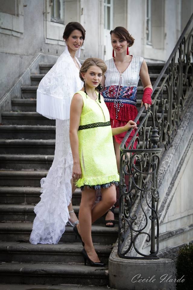 Flamme - collection FW16 - le Feu - les 4 éléments - Fabienne Dimanov Paris