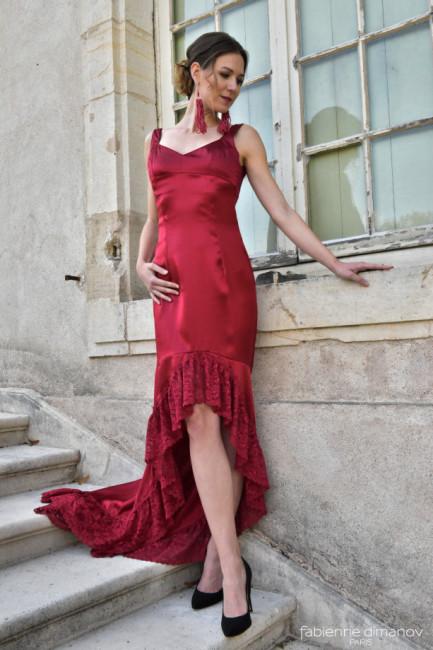 Rouge Sang - Sofia - collection FW17 - Fabienne Dimanov Paris