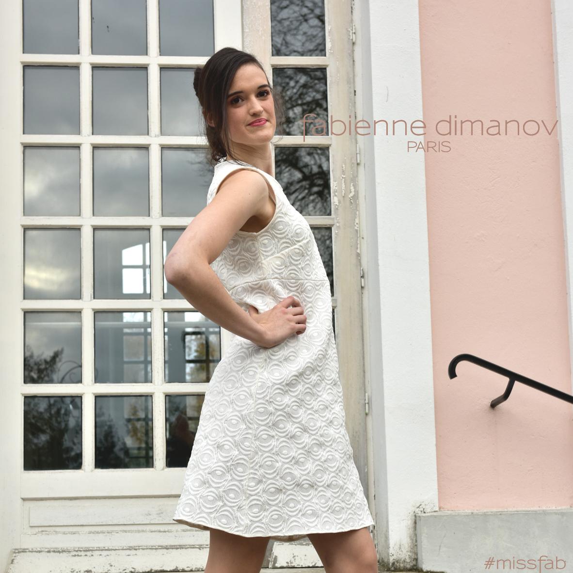 Robe perso #missfab - robe trapèze- Fabienne Dimanov Paris