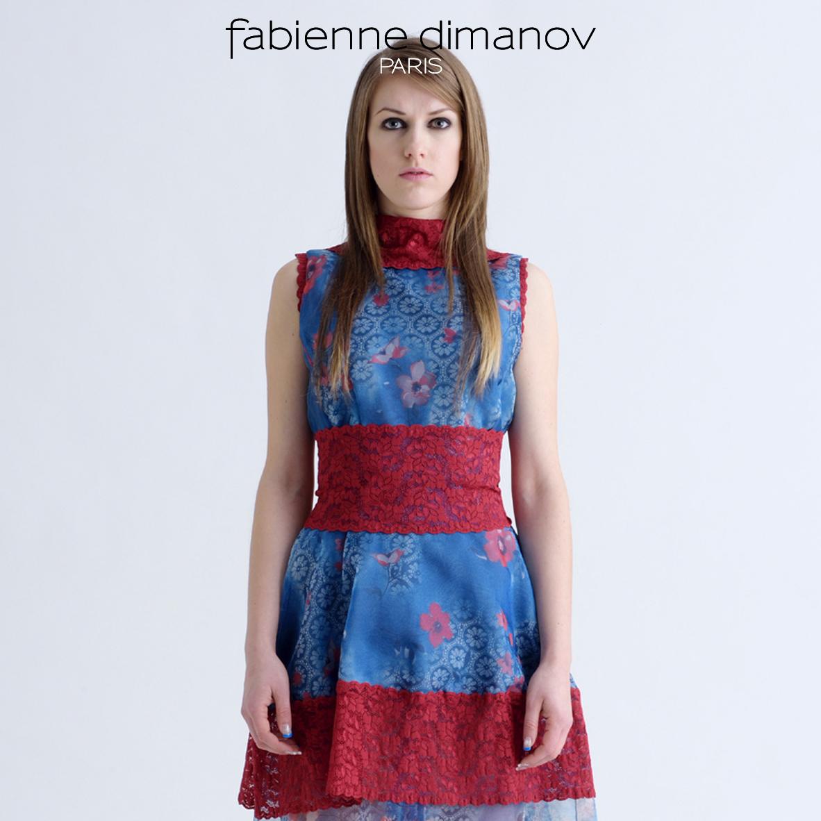 Fleur de ciel - Fabienne Dimanov Paris