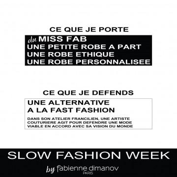Slow fashion days 2018 - Fabienne Dimanov Paris